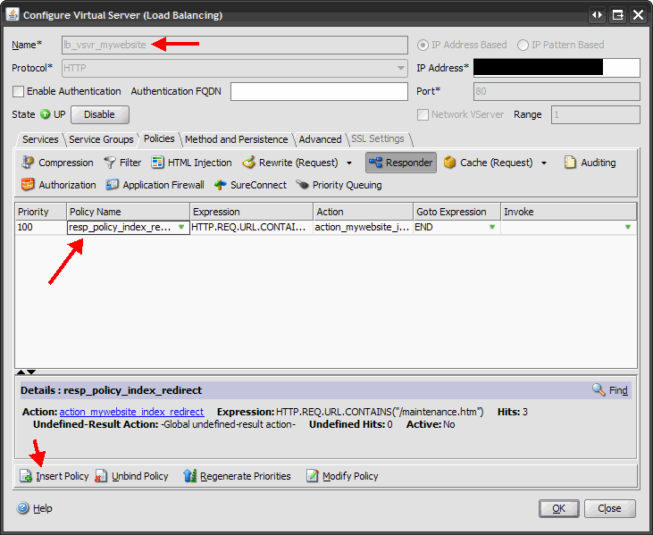 How to automatically put up a maintenance page on a