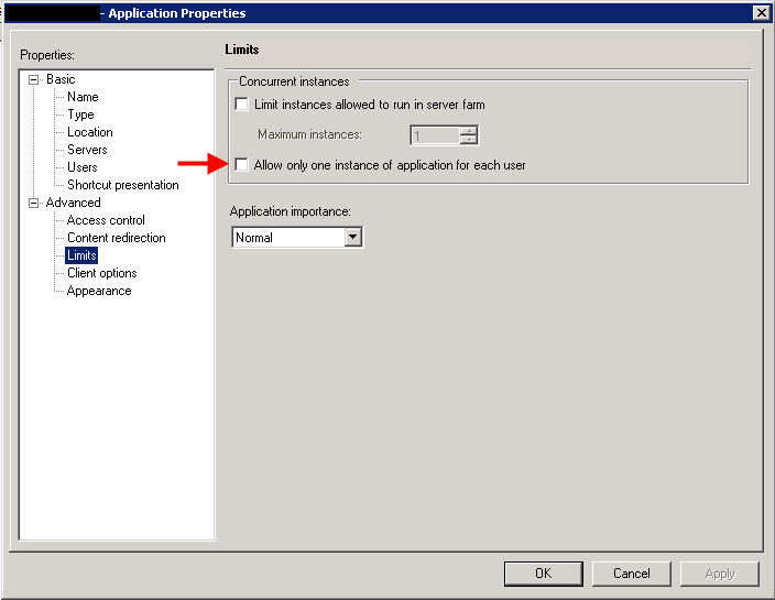 How to launch multiple sessions of a XenApp 6 5 application without