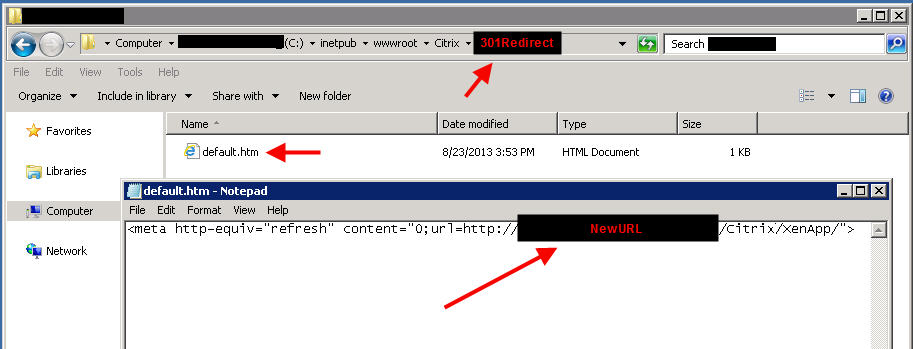 how to create a redirect url
