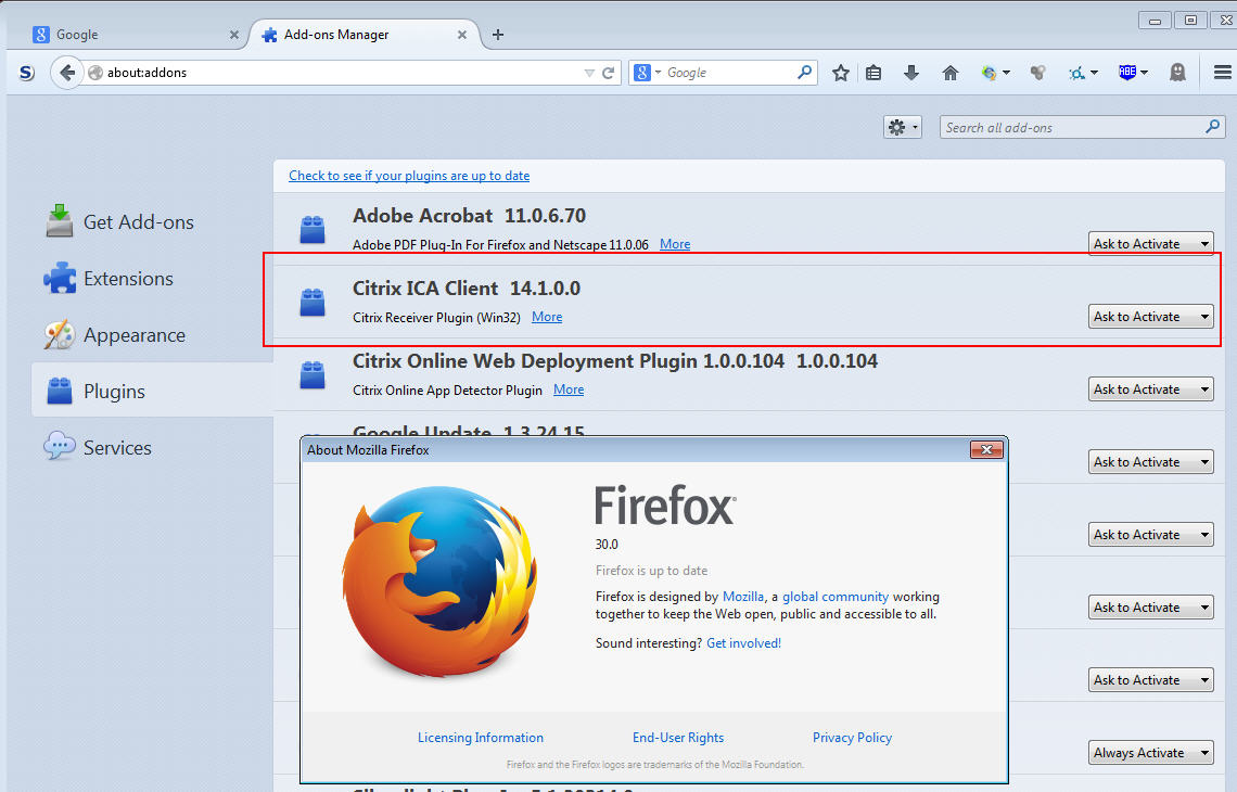 how to create a firefox plugin