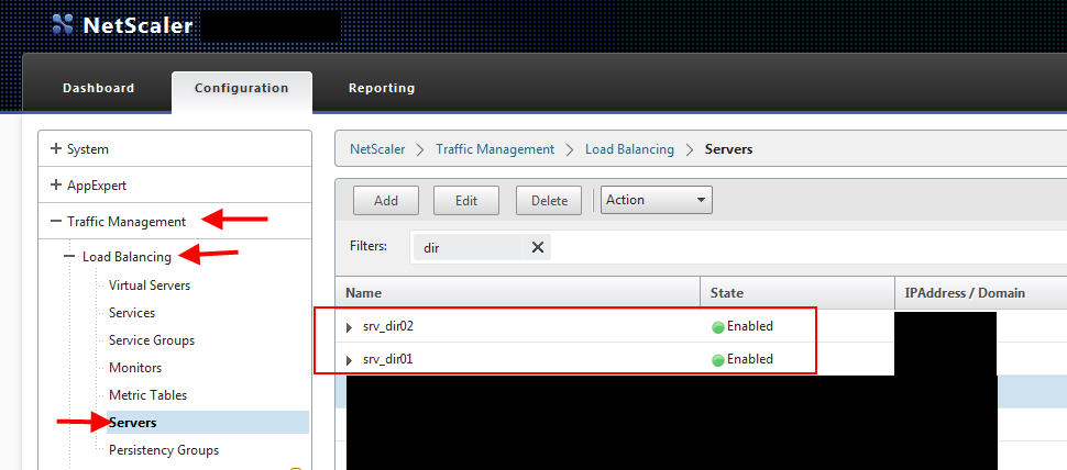 How to load balance Citrix Director 7 6 using a Citrix NetScaler