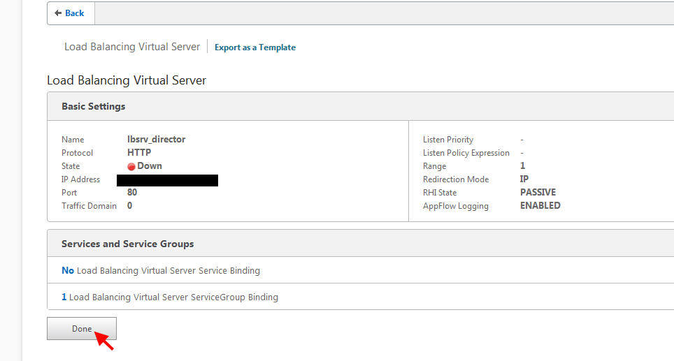 How to load balance Citrix Director 7 6 using a Citrix