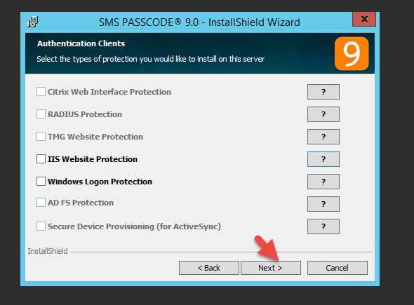 How to use Citrix NetScaler with CensorNet MFA (SMS PASSCODE) multi
