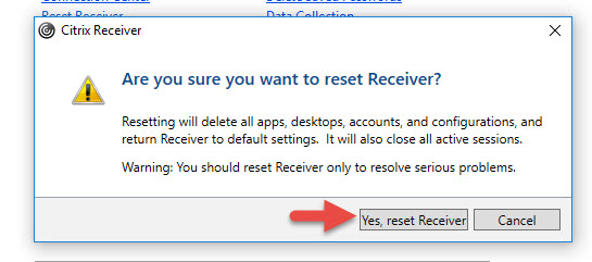 How to fix Citrix Receiver for Windows when using NetScaler Gateway