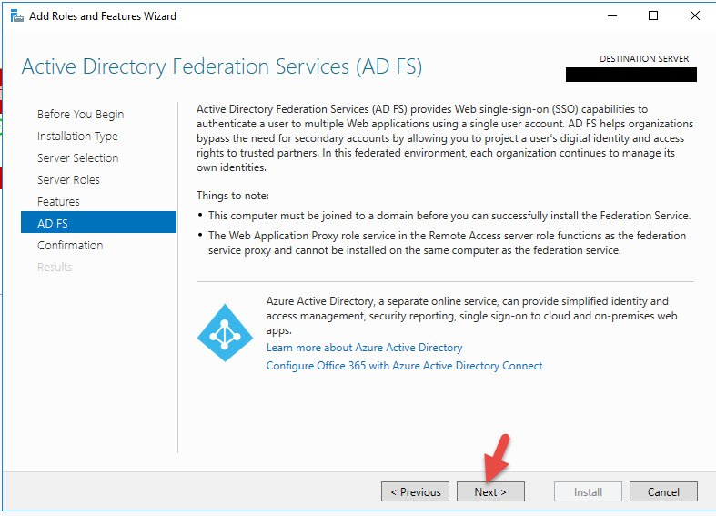 Using AD FS 4 0, Server 2016, Azure MFA, Citrix FAS, Single