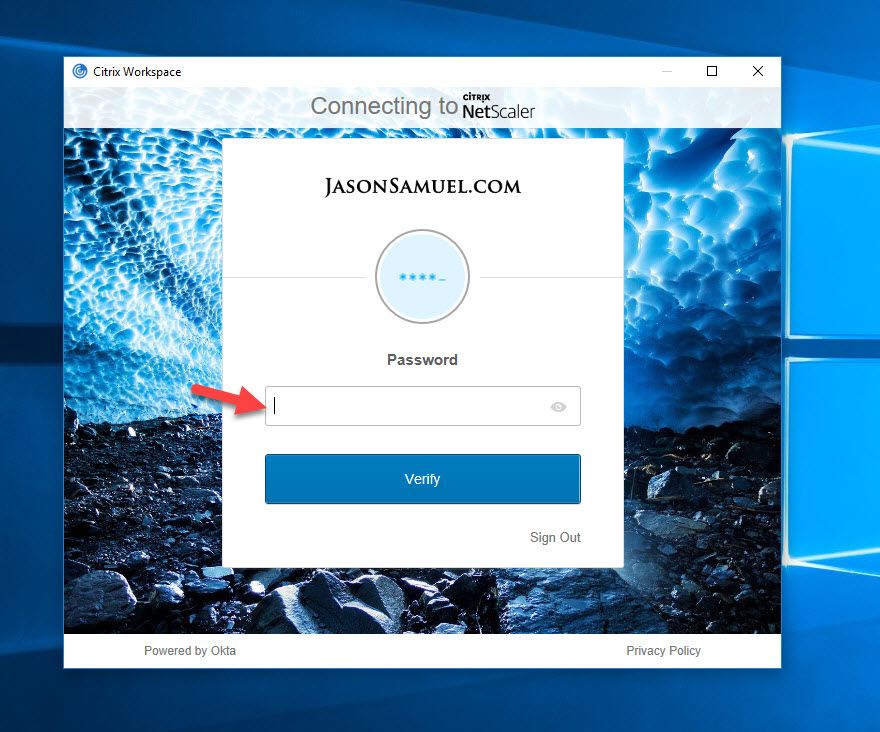How To Use Okta Citrix Gateway And Workspace App For A Uniform Saml Based Single Sign On User Experience Jasonsamuel Com